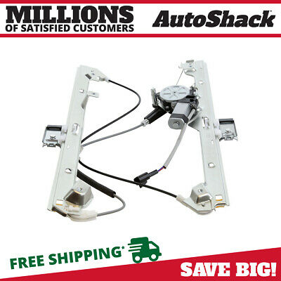 Front Driver Left Power Window Regulator w/ Motor for 99-06 Chevy Silverado 1500