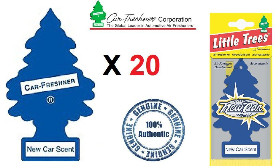 New Car Smell Air Freshener: 20 X NEW CAR SCENT MAGIC LITTLE TREE CAR/HOME/VAN/OFFICE