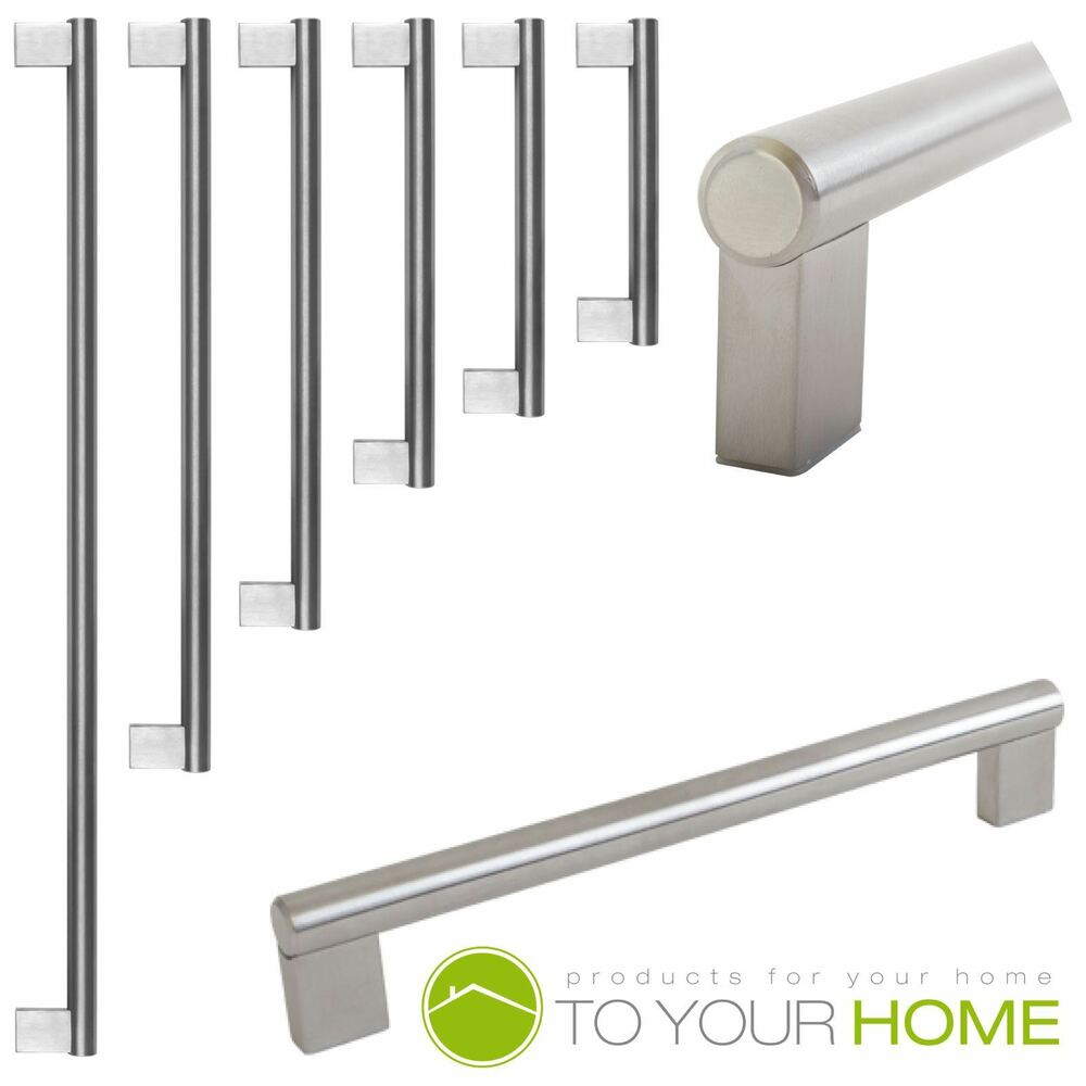 Door Handles Kitchen Cabinets: Boss Bar Stainless Steel Kitchen Cupboard Cabinet Drawer