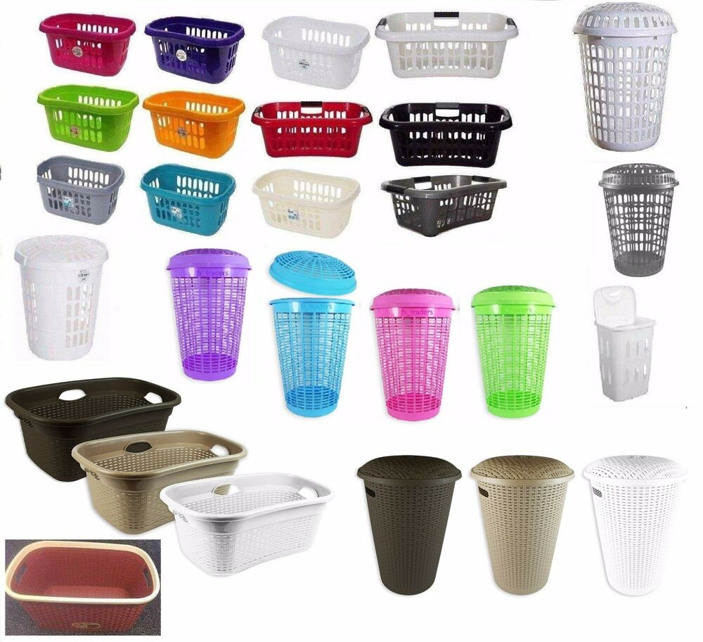 New Plastic Laundry Washing Clothes Storage Bin Hipster