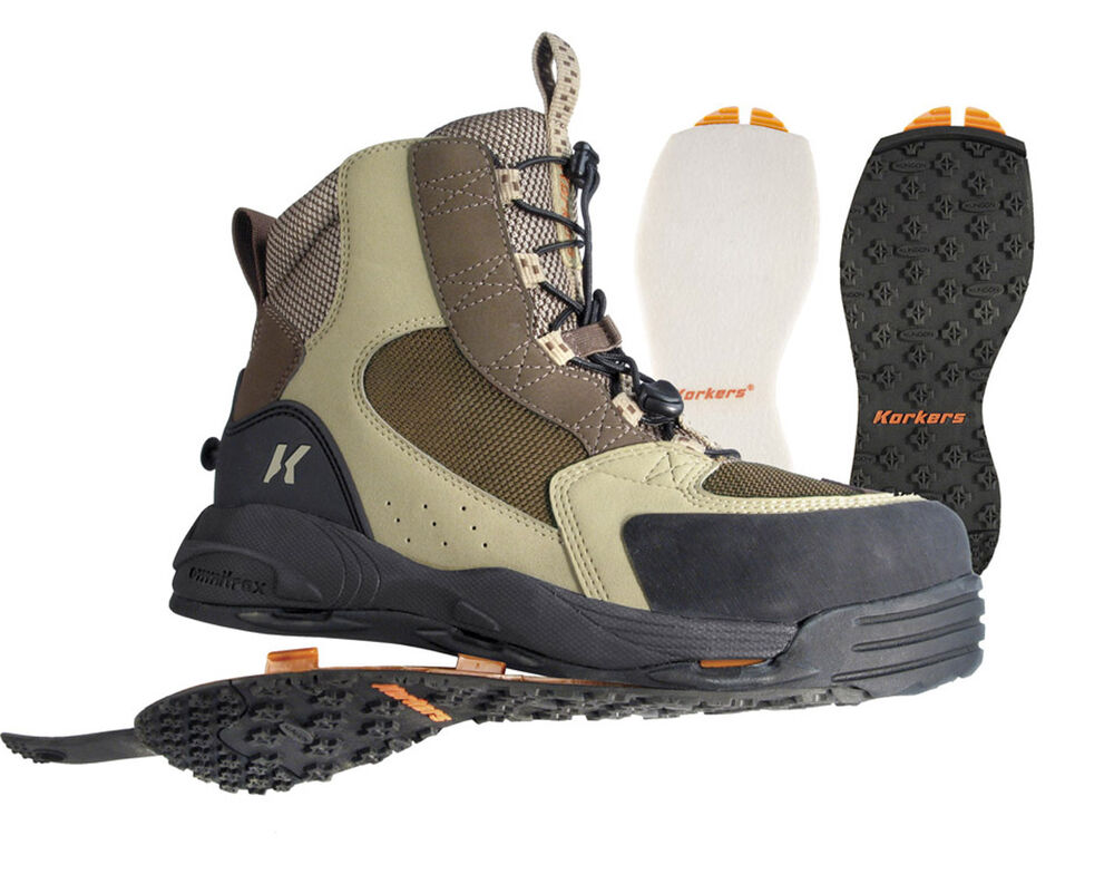 korkers redside fly fishing wading boots ebay
