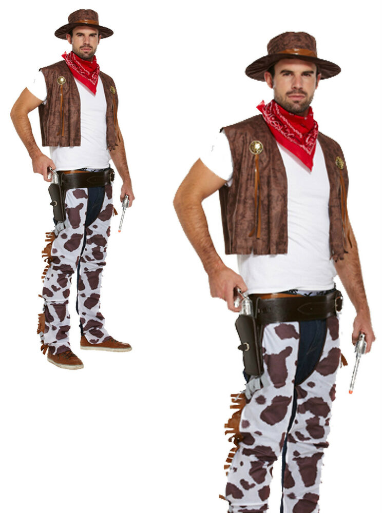Guy Cowboy Costumes Cowboy Fancy Dress Costume