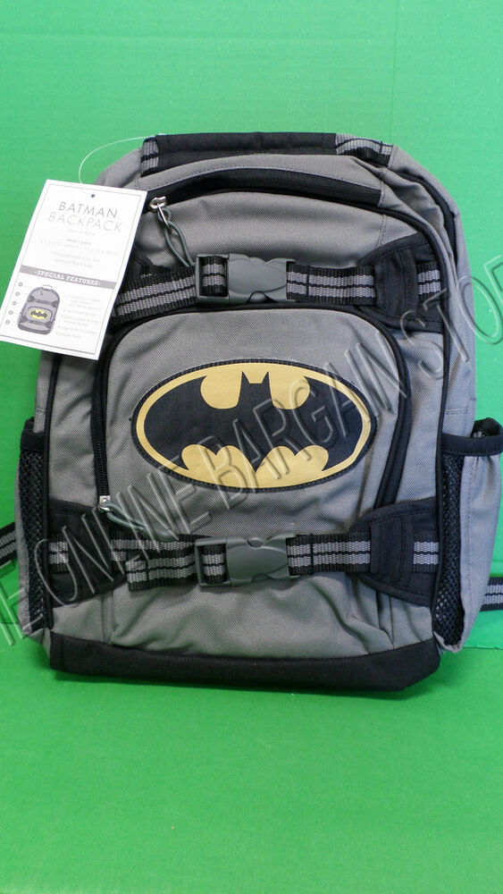 Pottery Barn Kids Mackenzie Backpack Small Book Bag Batman