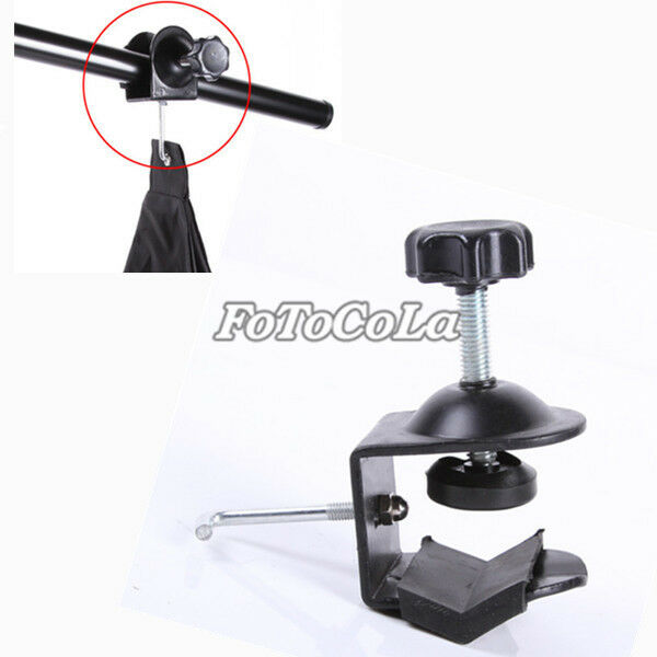 Light Stand Hook: Photo Studio C Clamp U Clip+Hook For Boom Arm Light Stand