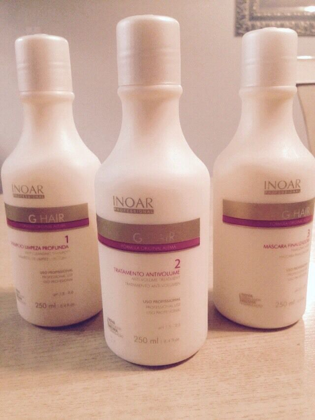 Inoar G Hair Keratin Brazilian Blowout Kit 250mi Ebay