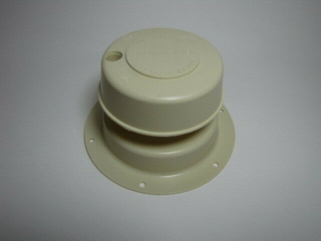 Roof Vent Cap Plastic Mobile Home Parts Off White Camco Rv
