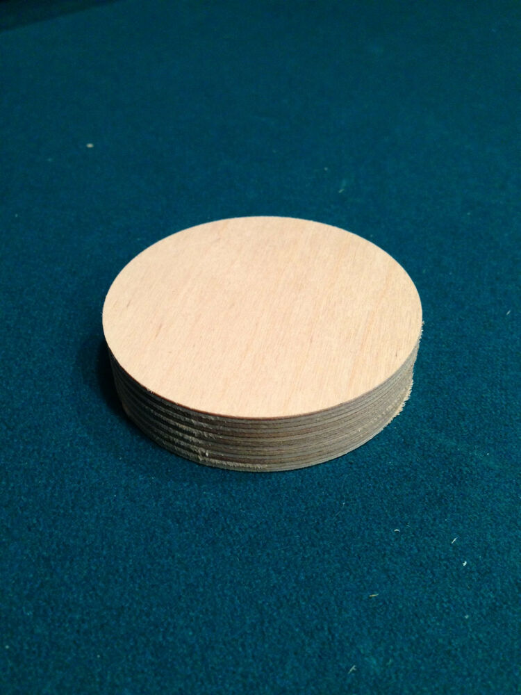 3 wooden maple plywood wheel circle craft disc 3 4 hard for Wood circles for crafts