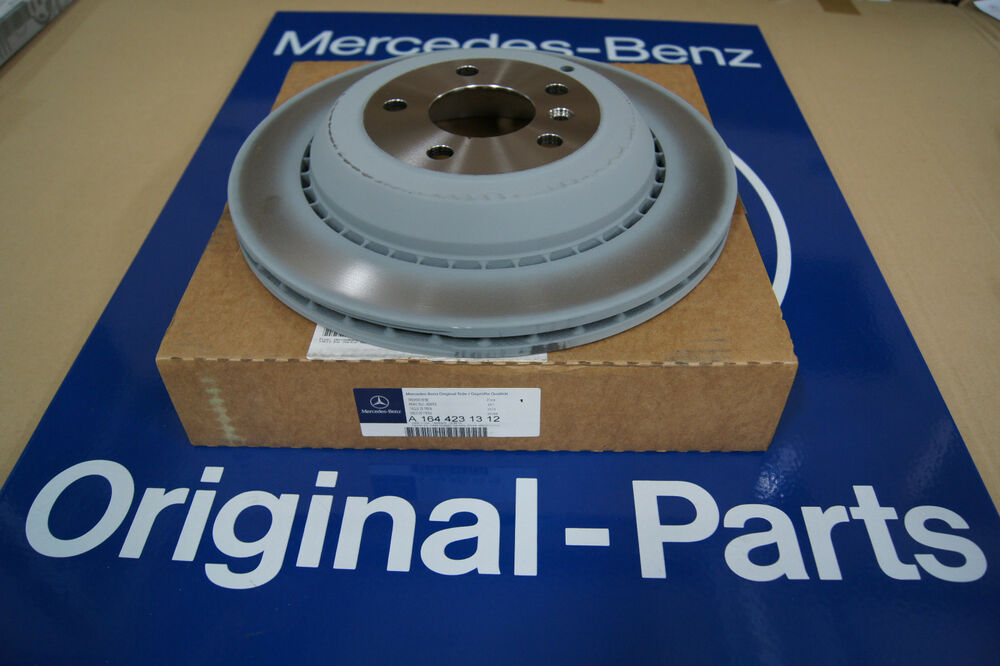 Mercedes benz genuine gl320 gl350 gl450 gl550 rear brake for Mercedes benz gl450 brake pads