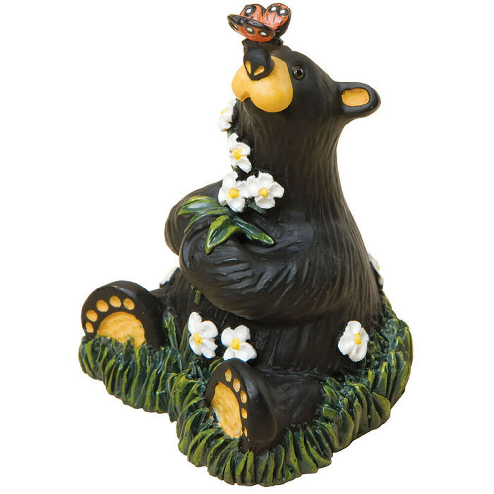 Big sky carvers bearfoots rachel cub mini figurine black
