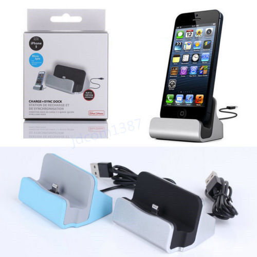 iphone 5s dock charger station stand cradle charge sync for 11192