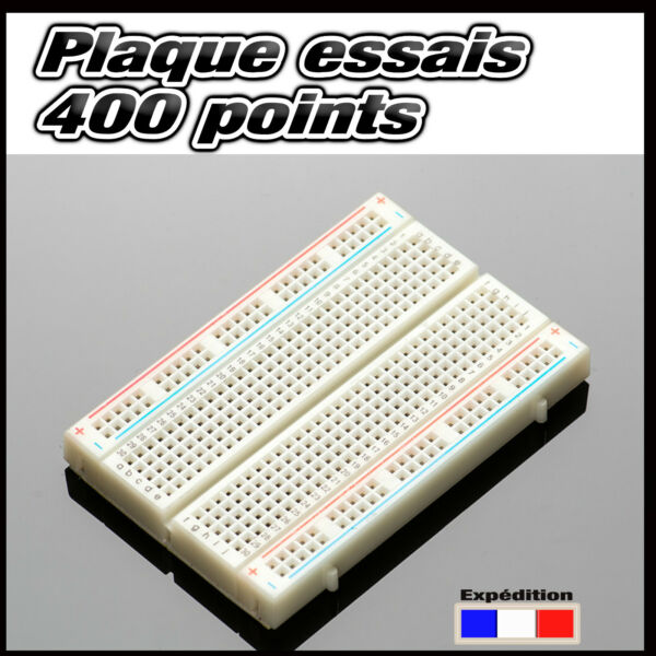 921A# plaque d'essais  prototype 400 points  -- breadboard PCB arduino -