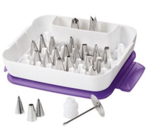 Wilton Deluxe Cake Decorating Tip Set ( KVSFRE )(RFEB16CO ...