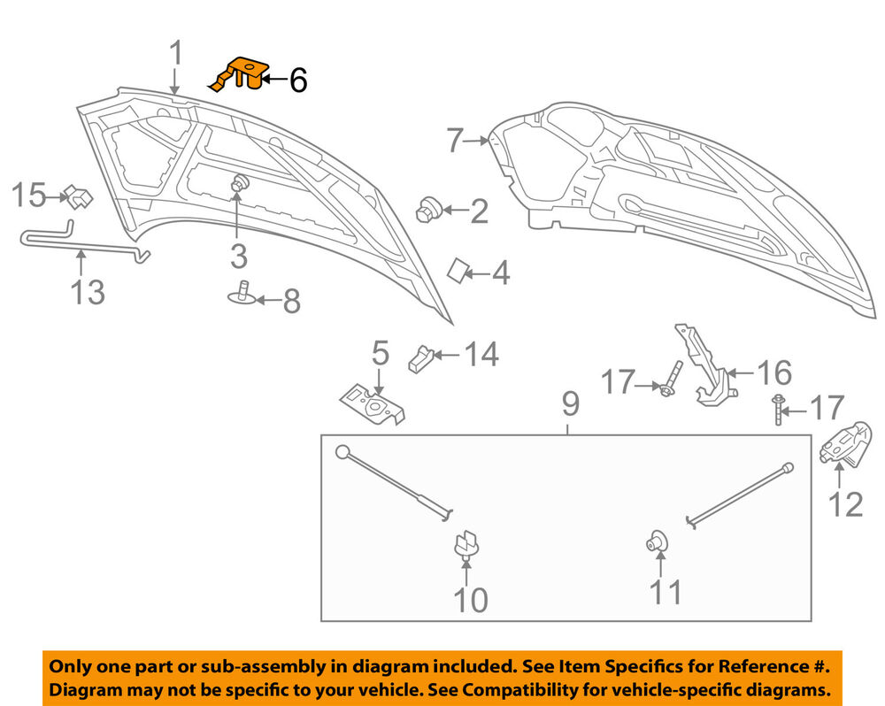 chevrolet gm oem 04-06 aveo hood-lock latch striker ... 2005 chevy aveo coil wiring diagram