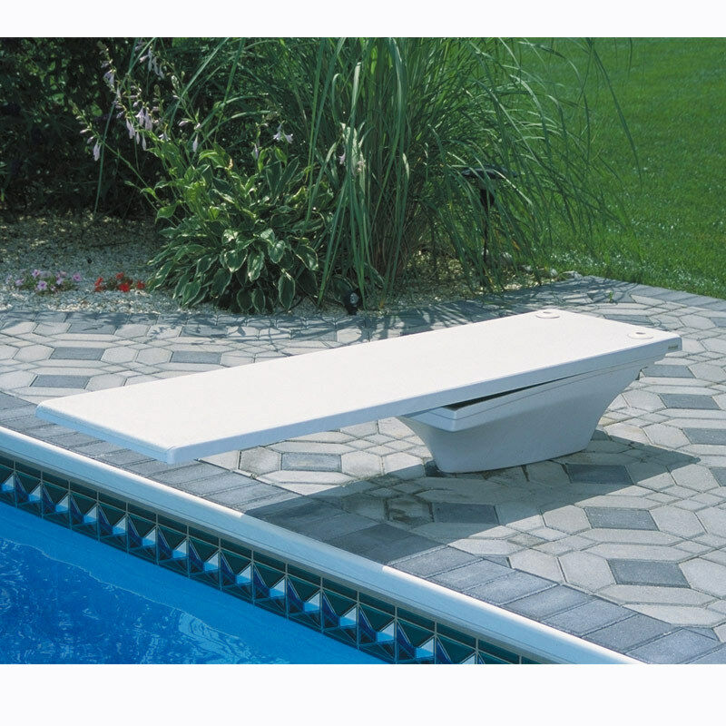 SR Smith Flyte Deck II Stand And 8' Fiber Swimming Pool
