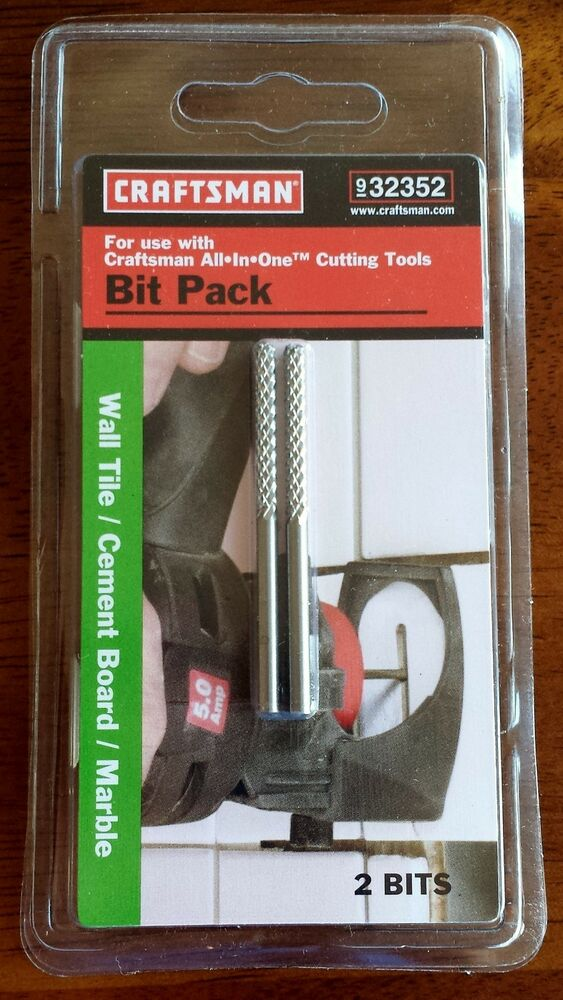 5 2 Packs Craftsman 9 32352 All In One Tool Bits For