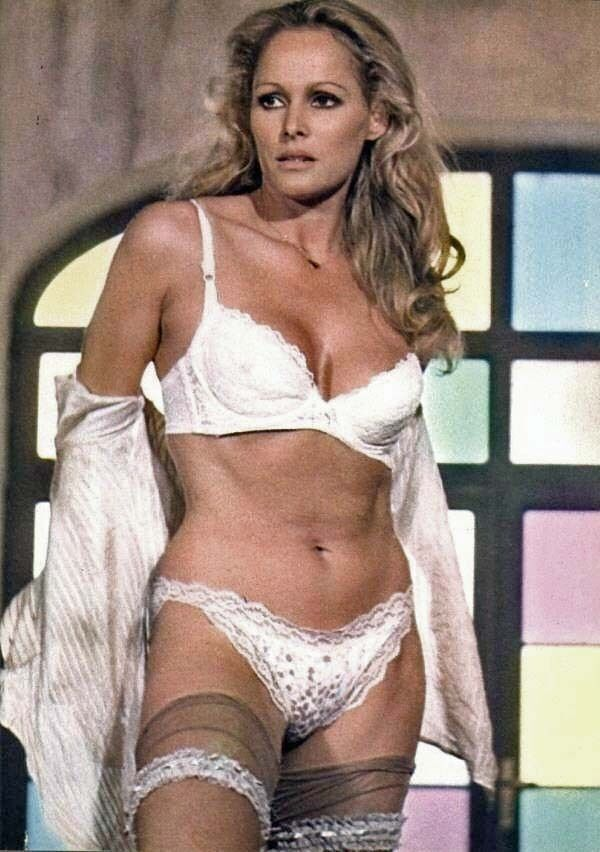 James Bond Girl Ursula Andress As The Sensuous Nurse Sexy