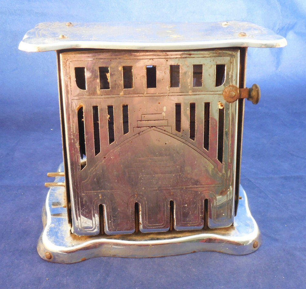 Electric Toaster History ~ Antique electric toaster s malda elec co ohio with