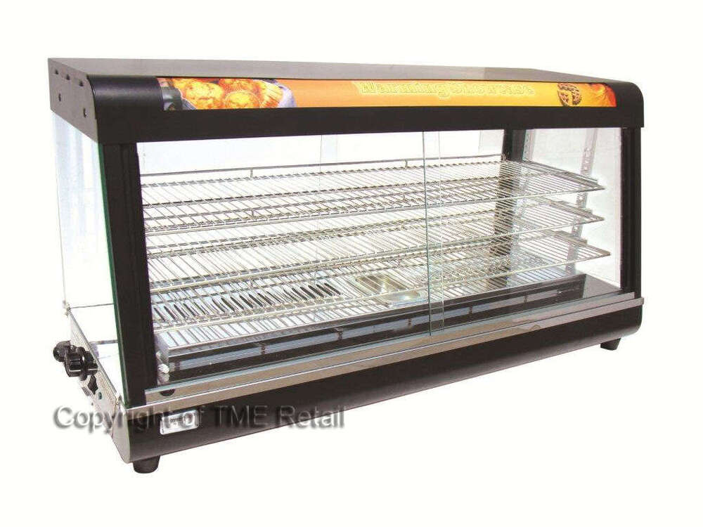 Large Food Warmer ~ New large commercial hot food warmer display showcase ebay