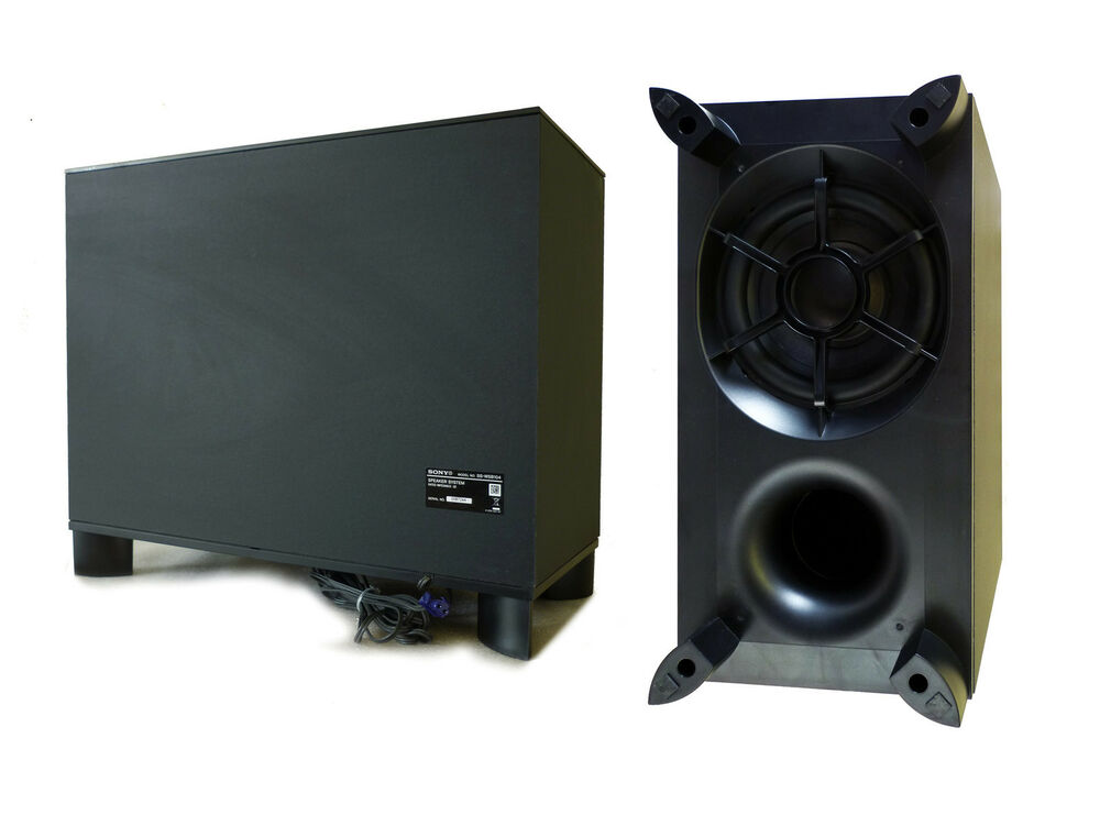 sony blu ray 3d passive home cinema theatre amplifier sub subwoofer 235w cable 5711045327759. Black Bedroom Furniture Sets. Home Design Ideas