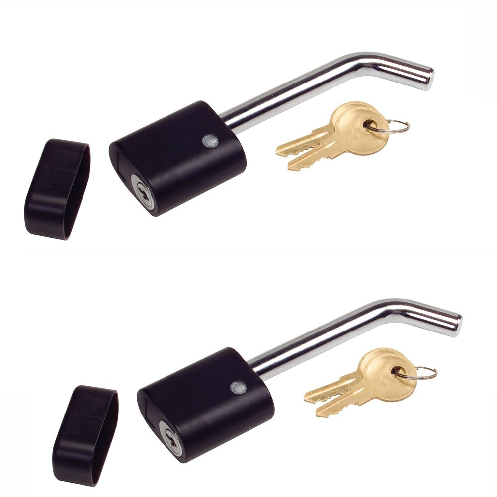 Trailer Coupler Locking Pin : Pack quot locking receiver hitch pin lock coupler truck