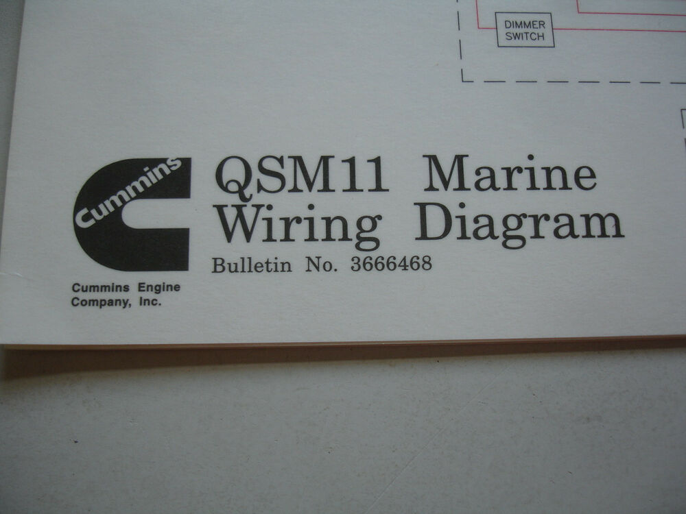 Awesome Cummins Diesel Marine Qsm11 Wiring Diagram Service Shop Manual Wiring Cloud Hisonuggs Outletorg