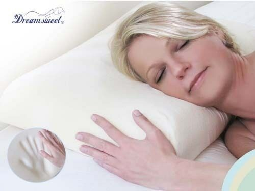 Memory foam contour soft pillow stomach back sleepers for Best soft bed pillows