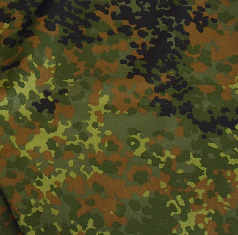 bundeswehr camouflage als meterware tarndruck flecktarn baumwoll stoff ebay. Black Bedroom Furniture Sets. Home Design Ideas