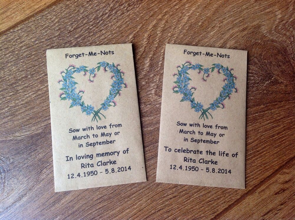 Forget Me Not Craft Ideas