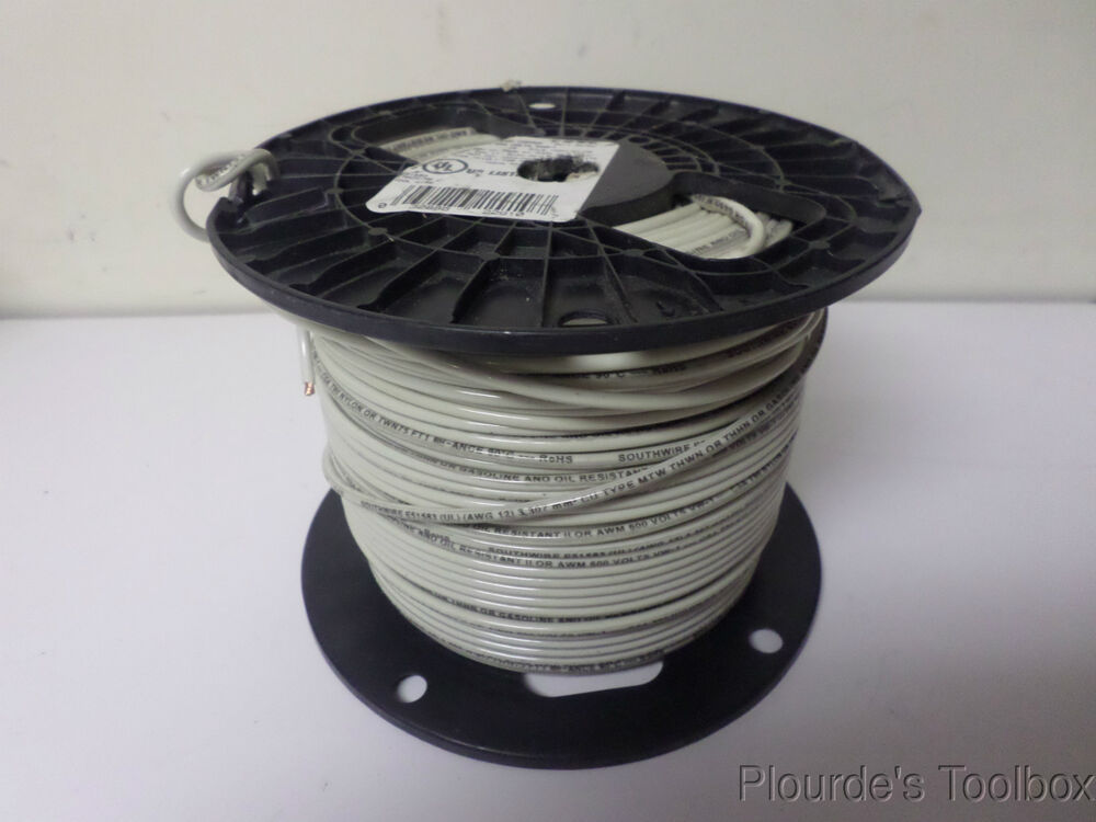 Stranded Copper Wire : Approx ft new southwire stranded copper wire awg