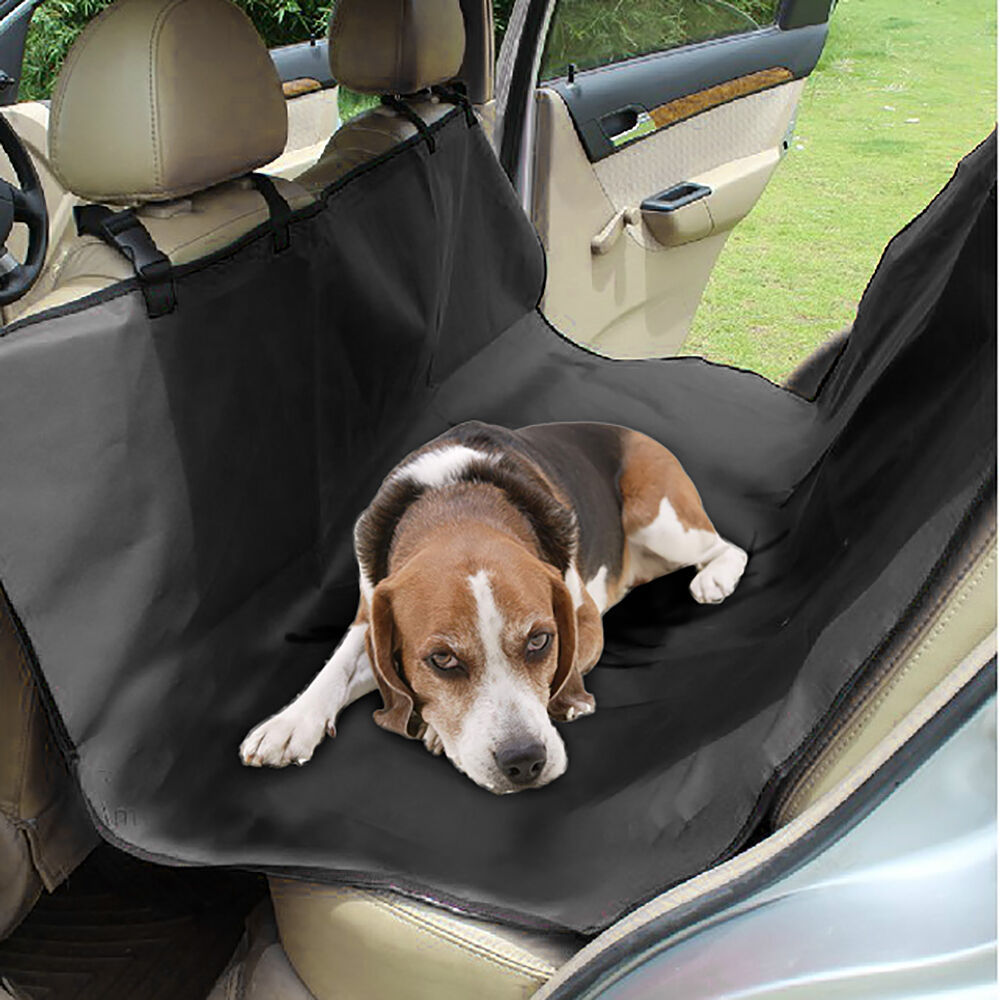 car seat protector cover for dogs pet hammock water resistant rear waterproof ebay. Black Bedroom Furniture Sets. Home Design Ideas