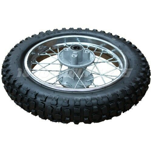 12 quot rear wheel rim tire assembly for 70cc 125cc dirt pit bikes ebay