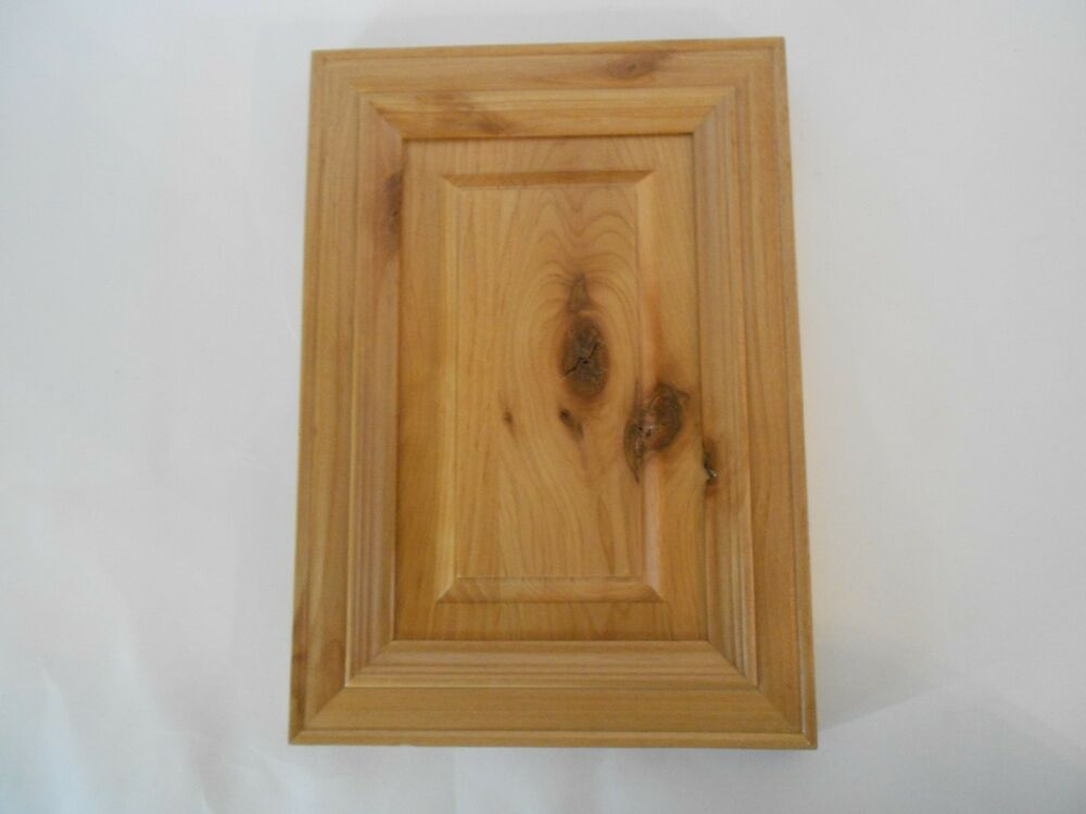 Light Wood Stained Kitchen Cabinet Door Art Craft Project