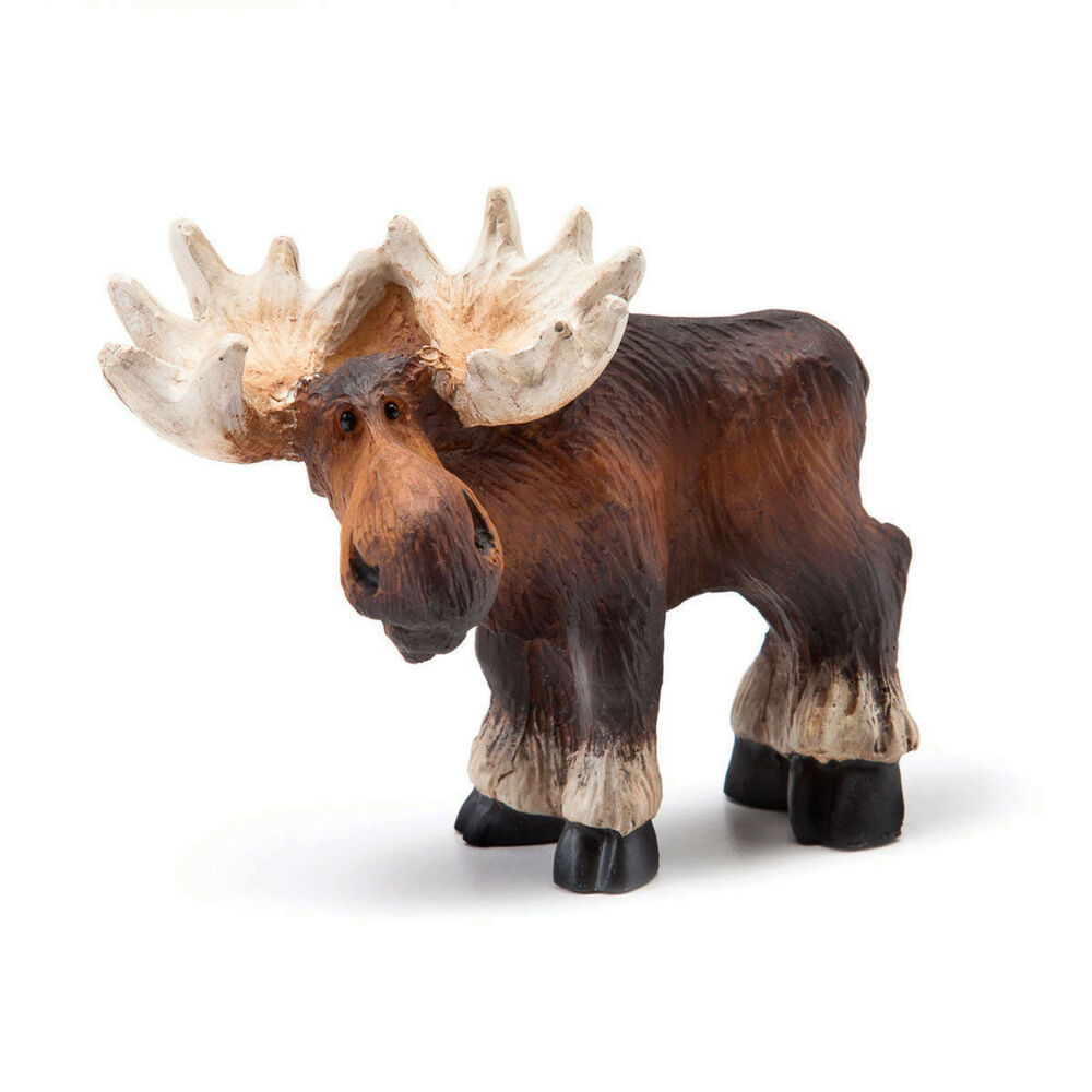 Big sky carvers it s a moose life standing mini