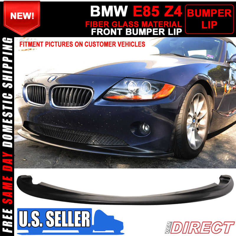 02 05 Bmw E85 Z4 Coupe Roadster H Style Front Bumper Lip