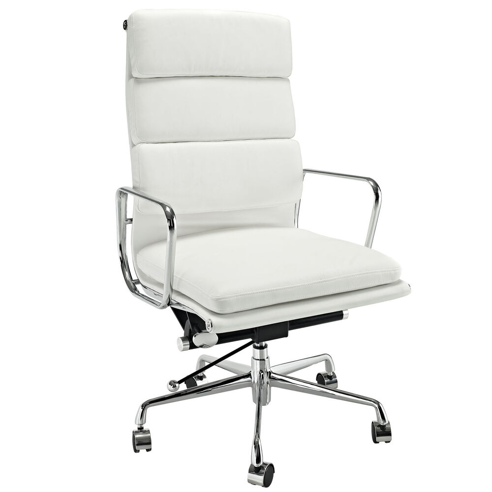 Eames Softpad Executive Chair Style Office Reproduction High Back White EBay