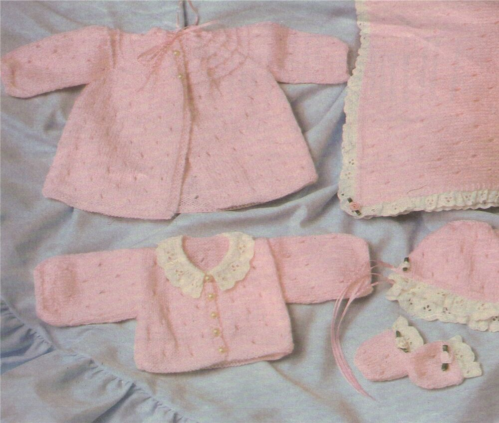Dolls Clothes Knitting Pattern : 14 inch dolly : Teeny ...