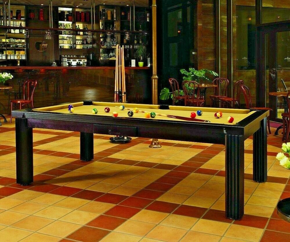 luxury convertible dining pool table billiard dining desk. Black Bedroom Furniture Sets. Home Design Ideas