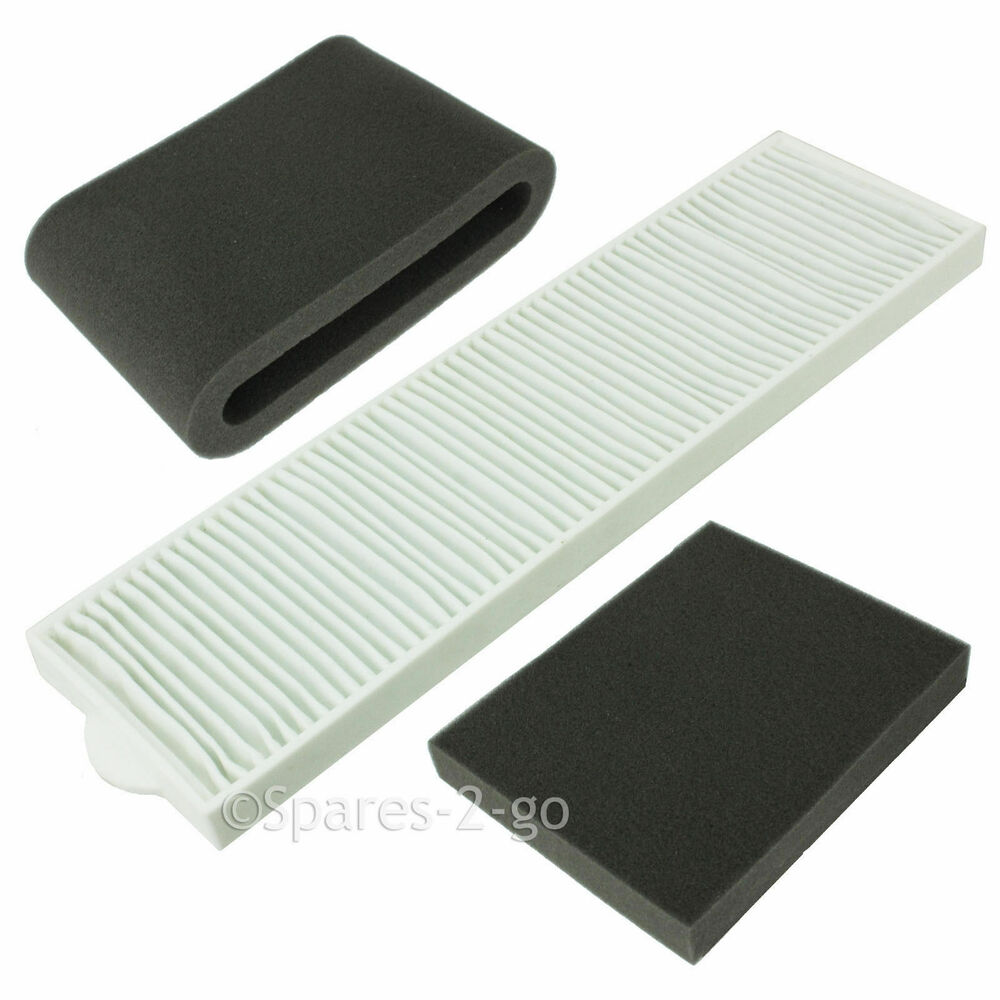 Bissell Vacuum Cleaner Hepa Filter Kit Lift Off Spin 3760e