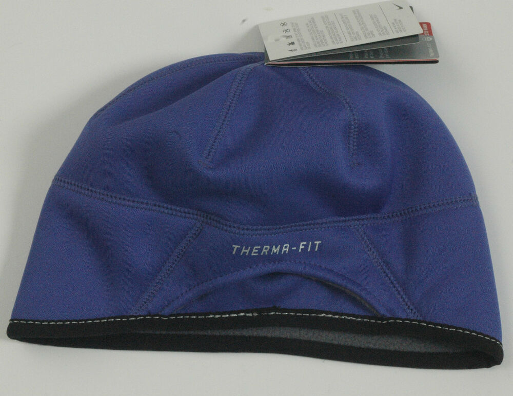 Nike Women Therma Fit Running Winter Fleece Skull Cap Hat