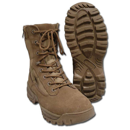 img-Tactical Boots Two-Zip coyote, Springerstiefel, BW, Stiefel -NEU-