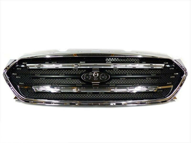 2013 2015 Ford Taurus Chrome Front Radiator Grille W O Sho