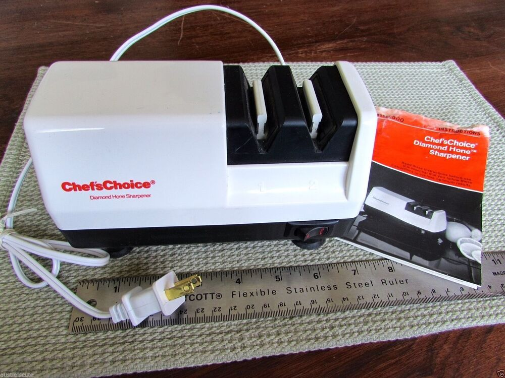 chef s choice diamond hone knife sharpener electric made in usa ebay. Black Bedroom Furniture Sets. Home Design Ideas