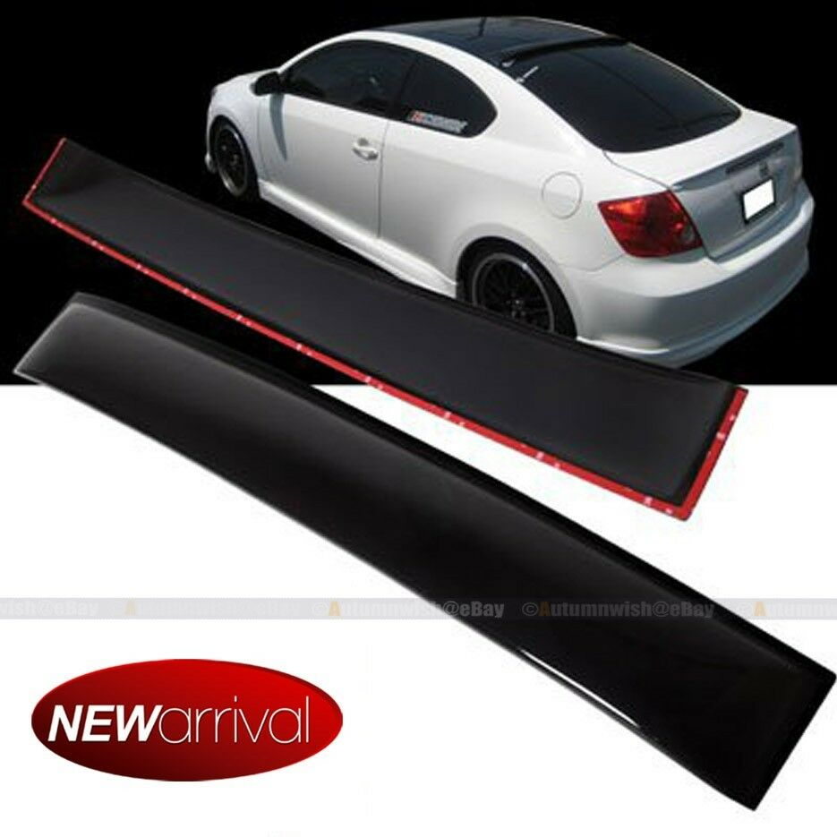 For 04 10 scion tc coupe rear window roof sun rain shade for 05 acura tl rear window visor