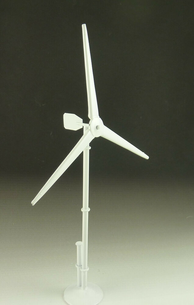 dollhouse miniature ultra modern wind turbine windmill