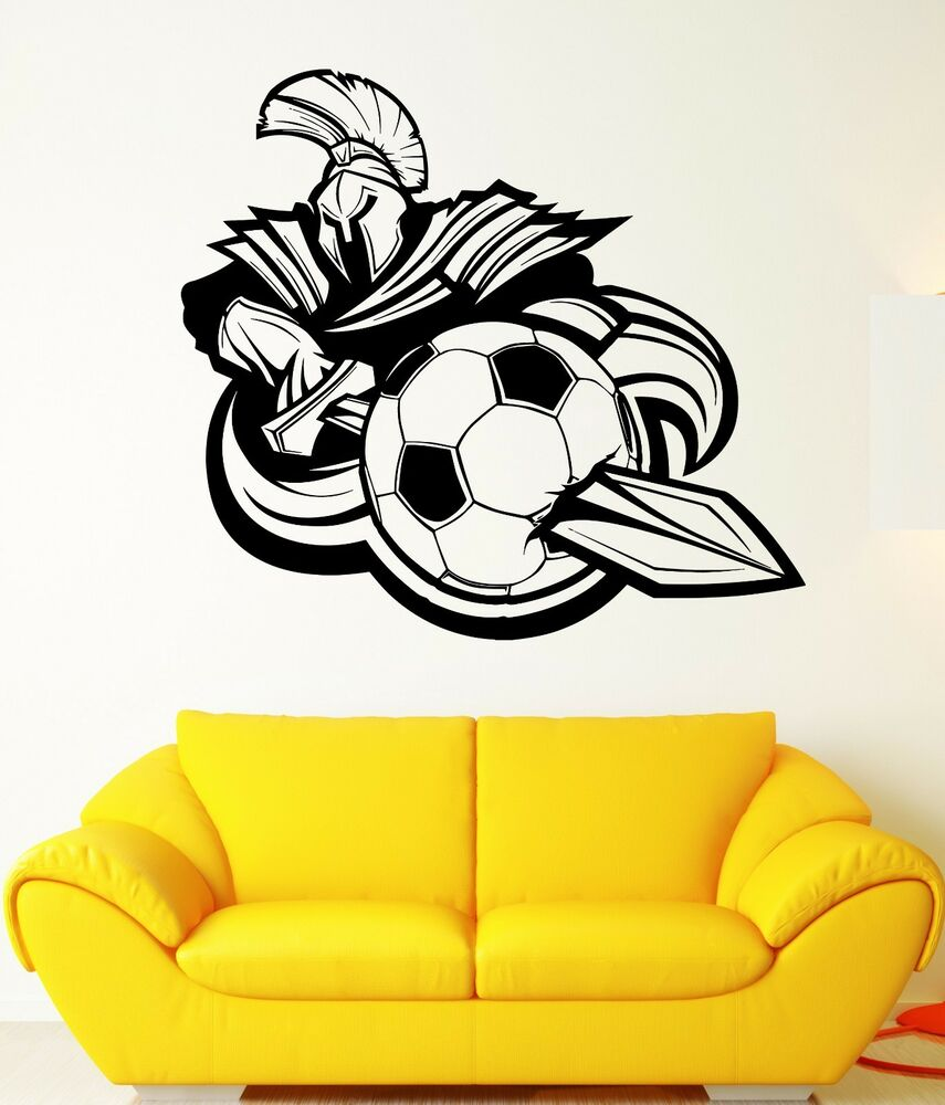 Wall stickers ebay australia choice image home wall decoration ideas wall sticker soccer team mascot spartan warrior mural vinyl decal wall sticker soccer team mascot spartan amipublicfo Choice Image