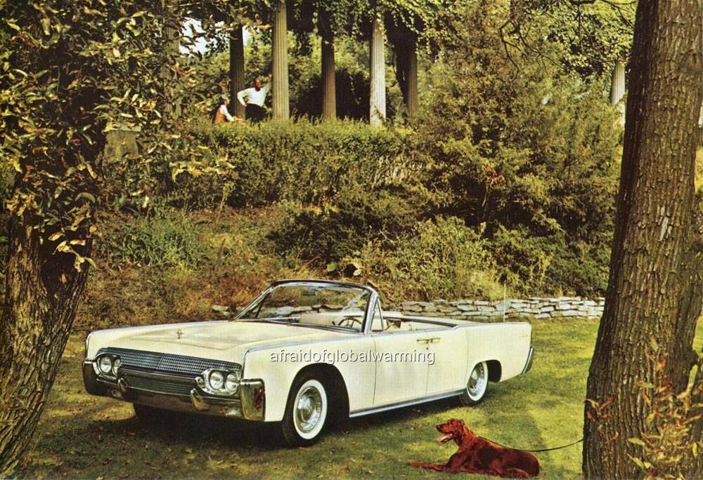 old print white 1961 lincoln continental 4 door. Black Bedroom Furniture Sets. Home Design Ideas