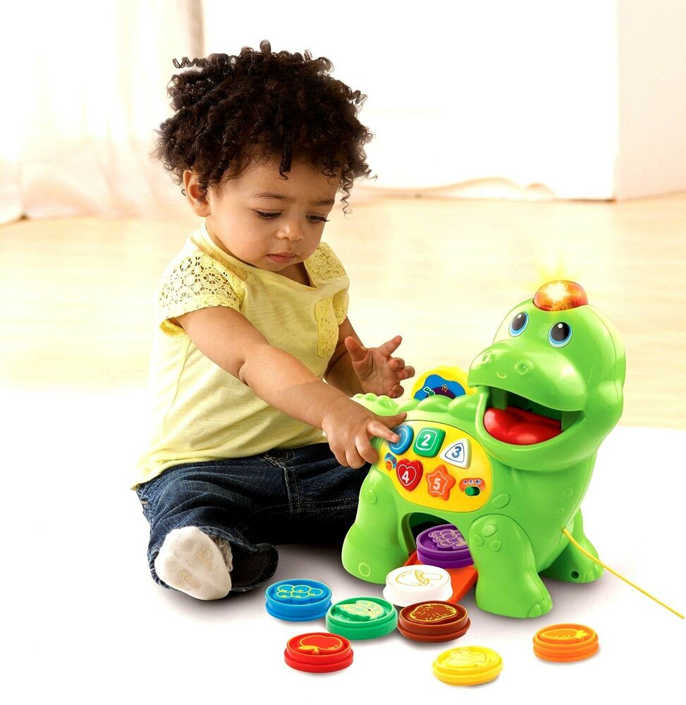 Toddler Learning Toys For 6 : Vtech chomp count dino dinosaur toy kid baby toddler