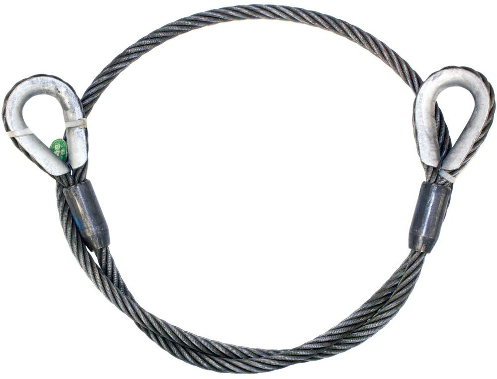 1 2 X 15 Iwrc Steel Core Wire Rope Sling Winch Cable