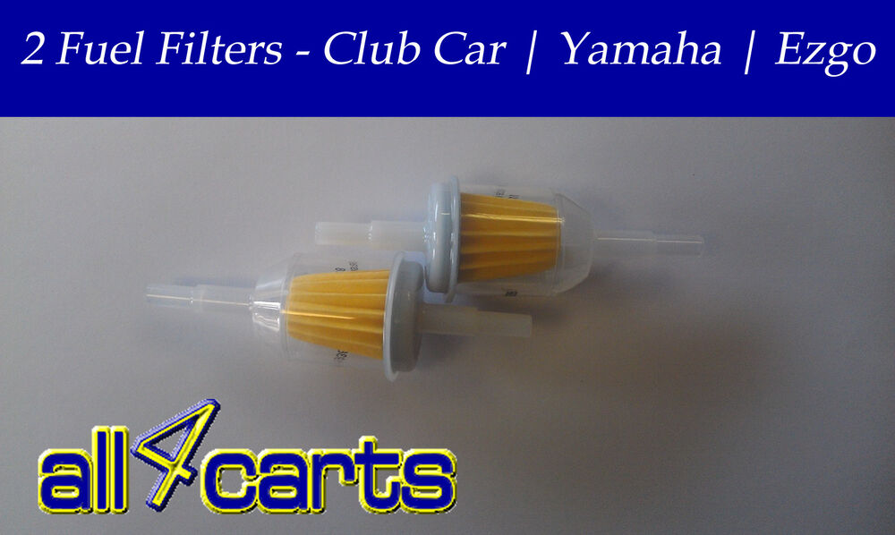 two golf cart fuel filters club car ezgo yamaha. Black Bedroom Furniture Sets. Home Design Ideas