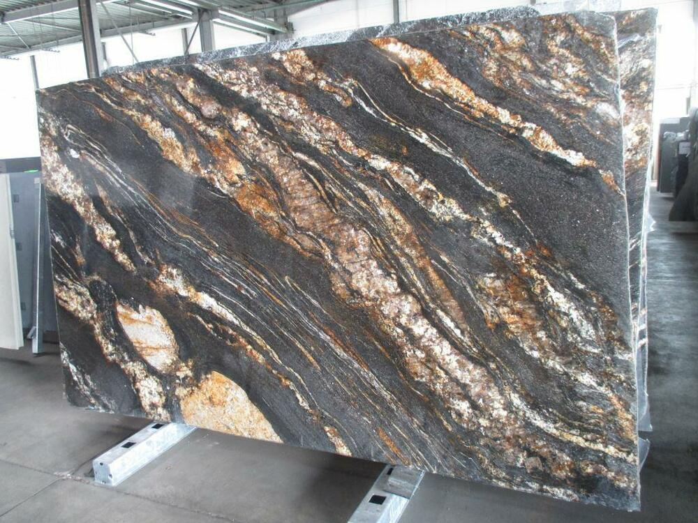 tischplatte marmortischplatte granitplatte magma gold abdeckung arbeitsplatte ebay. Black Bedroom Furniture Sets. Home Design Ideas